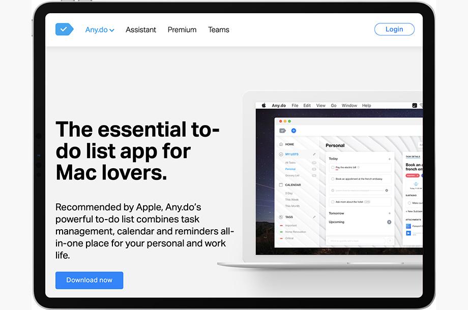 Any.do App for Mac