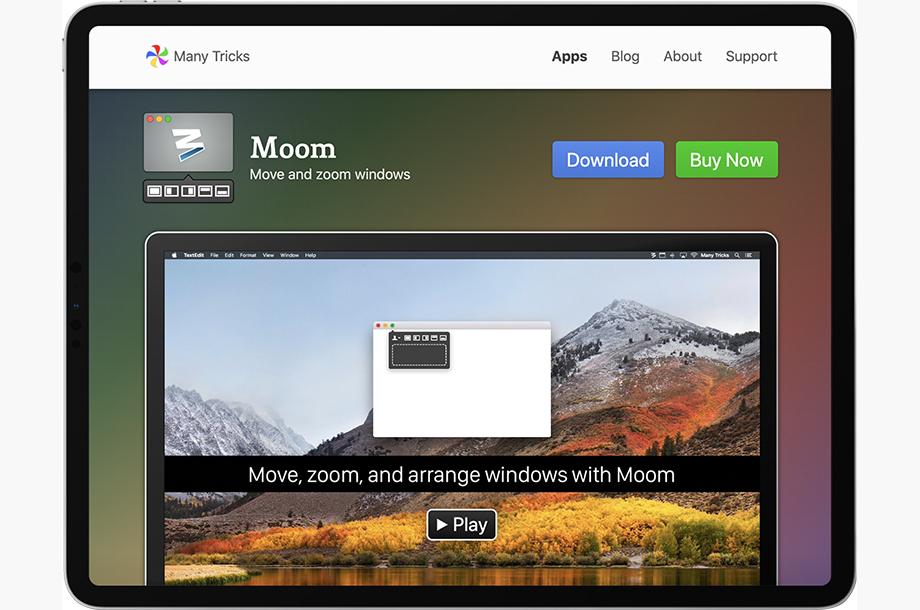 Moom App for Mac