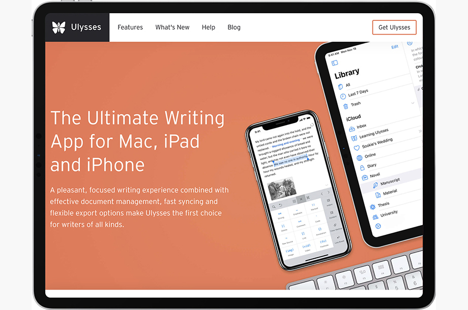 Ulysses App for Mac