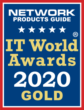Gold Winner of the 15th Annual Network PG's 2020 IT World Awards