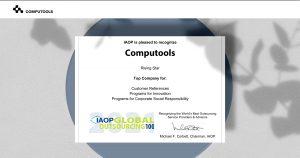 IAOP Certificate picture