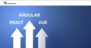 React VS Angular vs Vue image