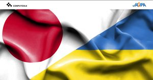 JASIPA Ukrainian and Japanease flags